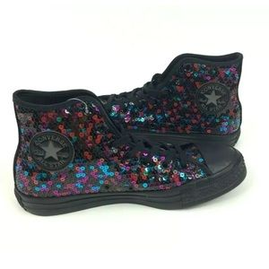 Converse Chuck Taylor All Star Hi Sequin Shoes